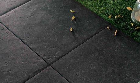Pose et création de terrasse grès cérame à Châbons